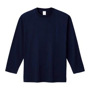 ヘビーウェイトリブ無し長袖Tシャツ 00101-LVC