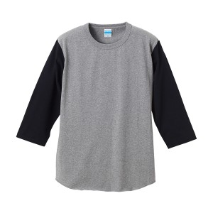 [在庫切れ]7.1オンス ベースボール3/4スリーブTシャツ 4256-01