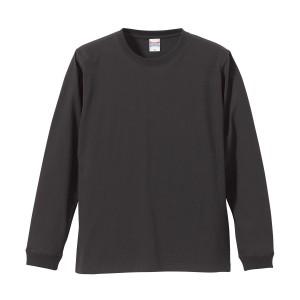 5.6オンス ロングスリーブTシャツ(1.6インチリブ) 5011-01