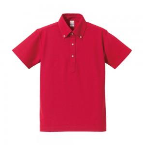 5.3オンスボタンダウンポロシャツ 5052-01