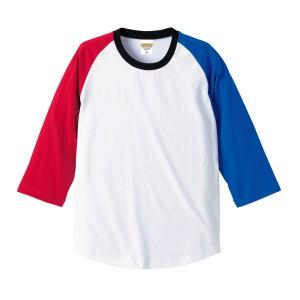 5.0オンス ラグラン3/4スリーブTシャツ 5404-01
