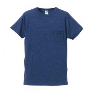 [在庫切れ]4.4オンストライブレンドTシャツ(ポケット付) 1291-01
