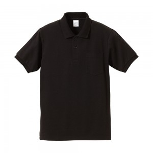 6.2オンス ドライカノコハイブリッドポロシャツ(ポケット付) 5191-01