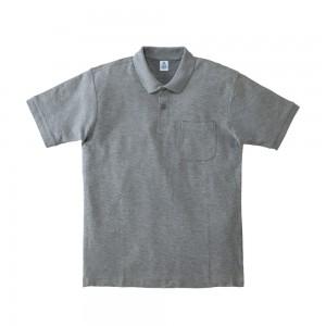 ポケット付CVC鹿の子ドライポロシャツ MS3114