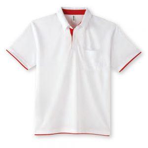 4.4オンス ドライレイヤード ボタンダウンポロシャツ 00315-AYB