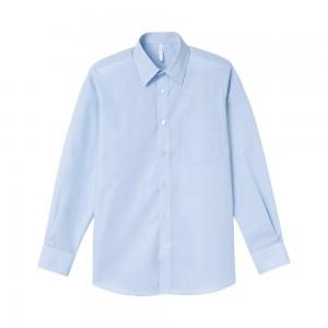 長袖ブロードシャツ 00811-LBM,00812-LBL