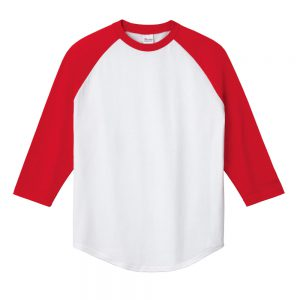 5.6オンス ラグランベースボールTシャツ 00138-RBB
